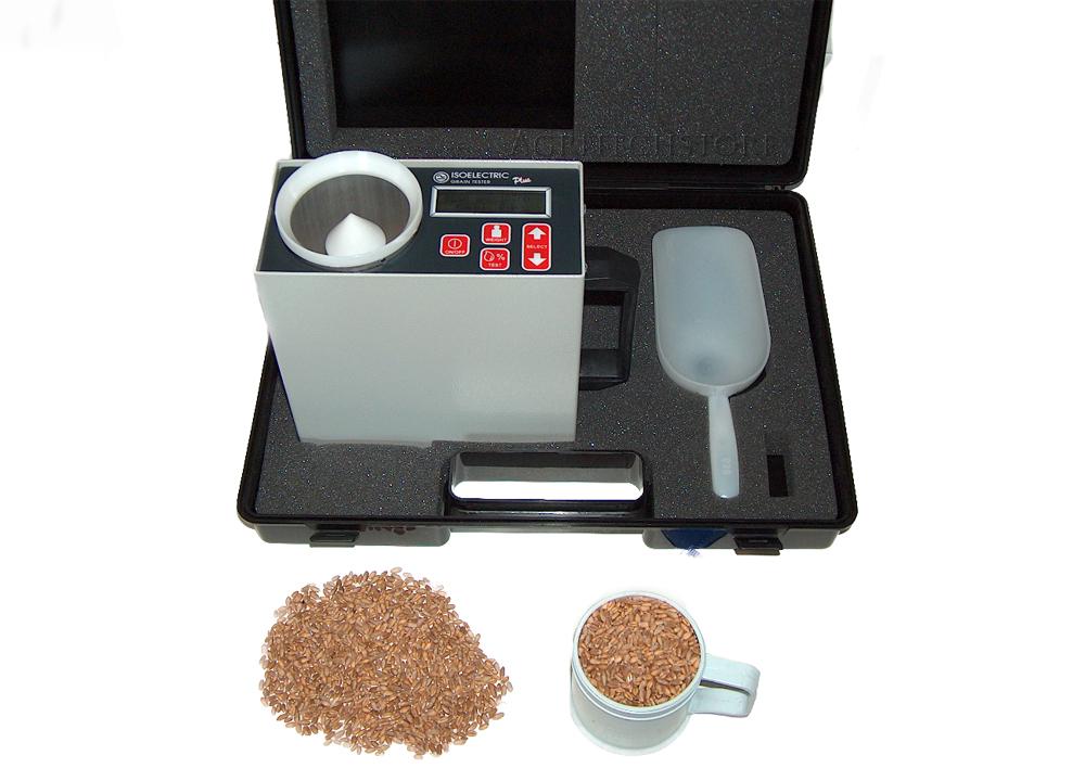 Misuratore elettronico dell' umidità dei Cereali con peso specifico