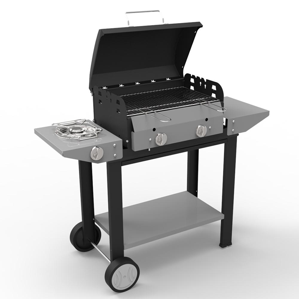 Barbecue vulcano a gas di ferraboli barbecue a gas e con - Cucinare con la pietra lavica ...