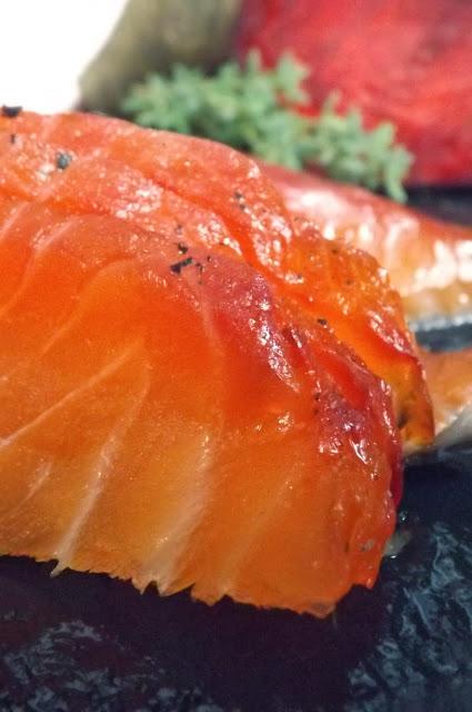affumicatura e cottura salmone e trote