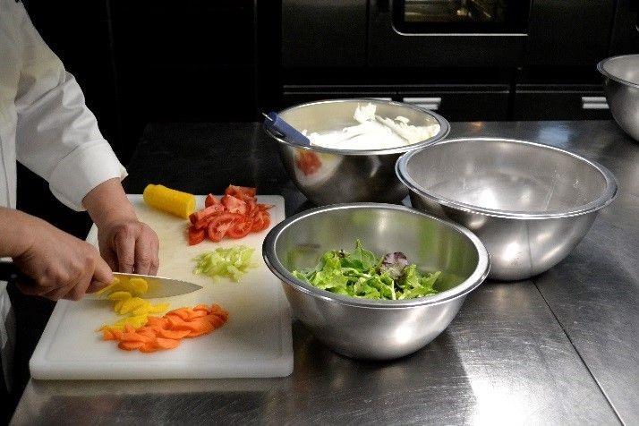 Ciotola acciaio inox per cucine e chef