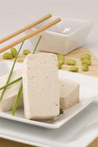 tofu prodotto con latte vegetale vegan star