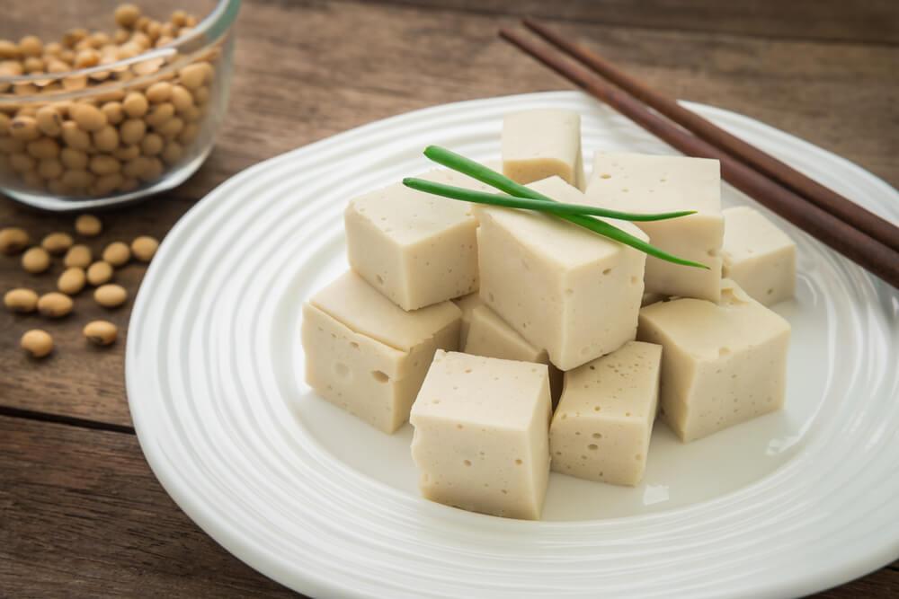tofu con vegan star