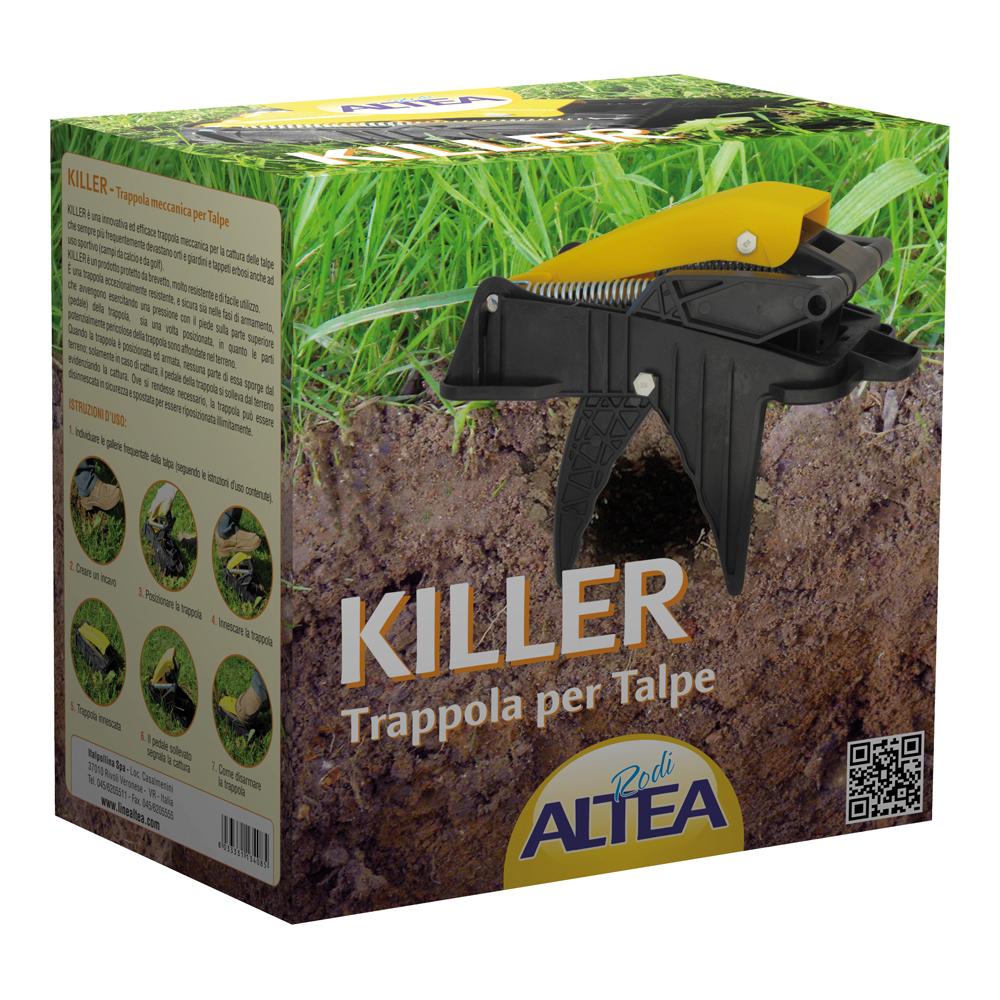 Superior Trappola KILLER Per TALPE   In Nylon Vetrificato