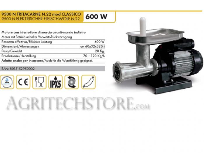 9500 N TRITACARNE Reber N.22 mod CLASSICO
