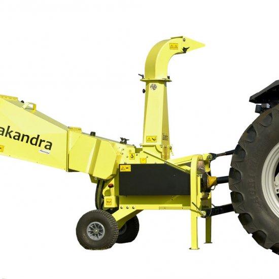 Biotrituratore Cippatore Zakandra Za350 T Cardano