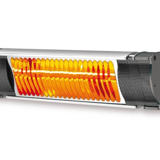 Miglior prezzo Riscaldatore elettrico professionale ad infrarossi 1,5 KW IP65 -