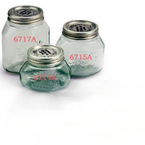 Miglior prezzo Vasi in vetro per sottovuoto Litri 1 -