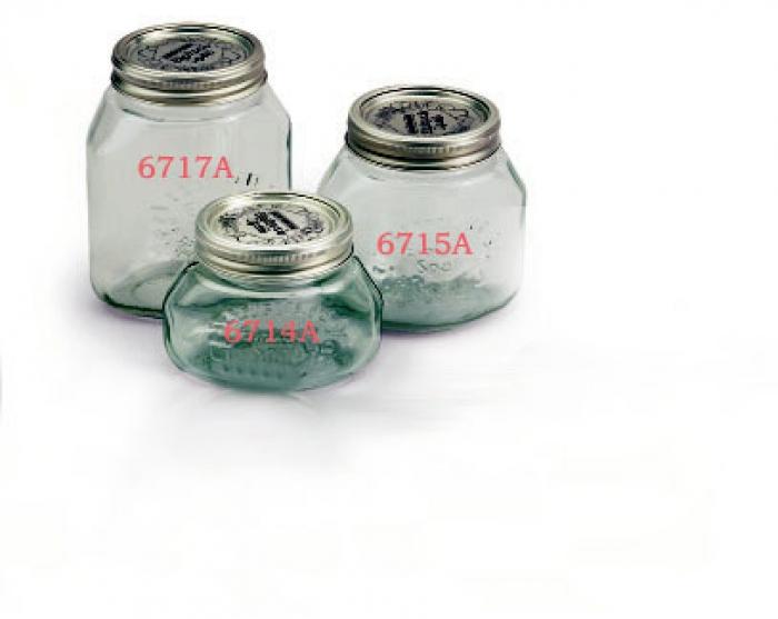 Vasi in vetro per sottovuoto Litri 1