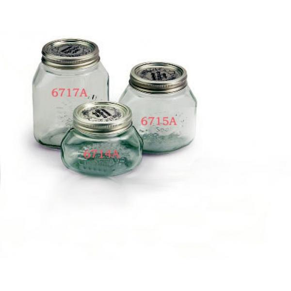 Vasi in vetro per sottovuoto 1/2 Litro