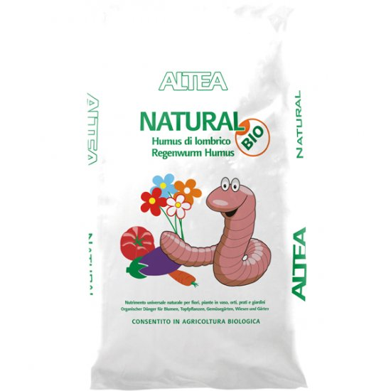 Altea Natural Humus Di Lombrico 25 Litri