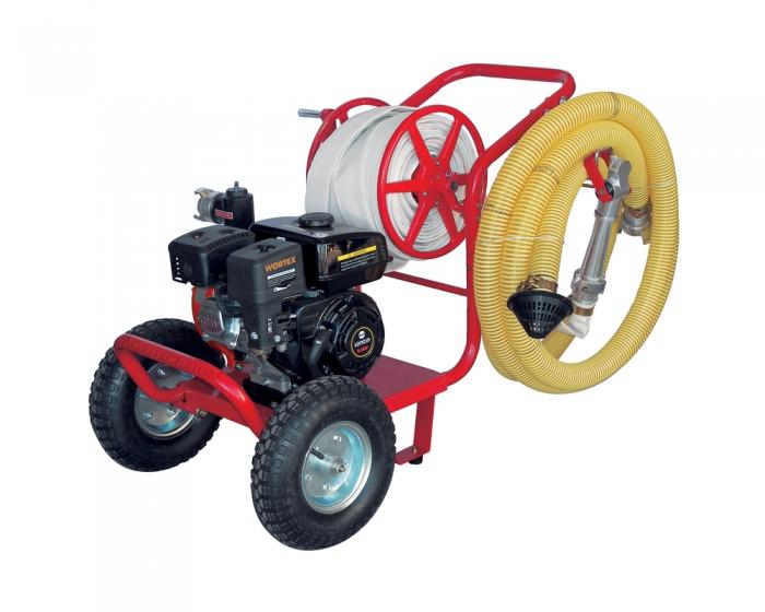 Motopompa a benzina Wortex LWP 50 Trolley