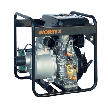 Motopompa Diesel Wortex HW 80 HP 6,0