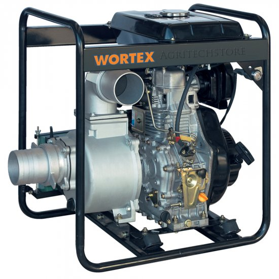 Motopompa Diesel Wortex Hw 100 Hp 96