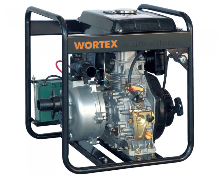 Motopompa Diesel Wortex HWP 50 HP 6,0