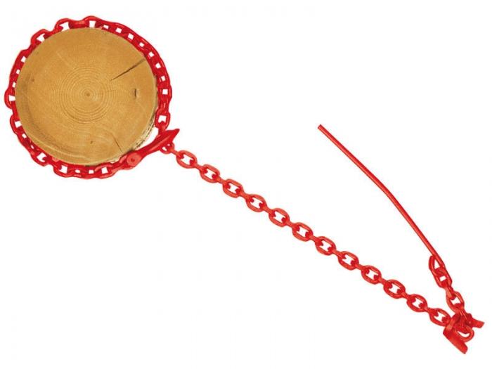 Catena da esbosco per verricello 3MT Rossa