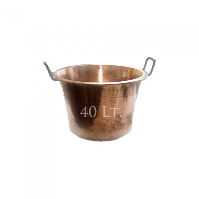 Paiolo - Caldera in Rame da 40 Litri