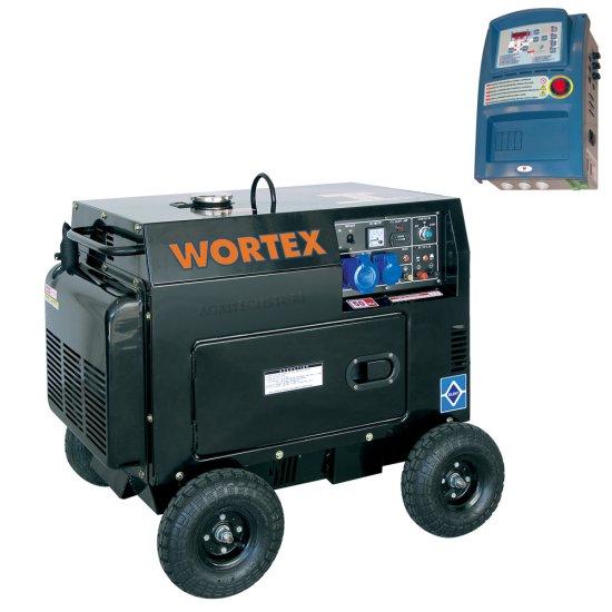 Offerte pazze Comparatore prezzi  Generatore Diesel Wortex Hw 5000 A Kw 45  il miglior prezzo