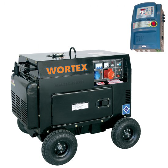 Generatore Trifase Diesel Wortex Hl 5000 Ta Kw 45