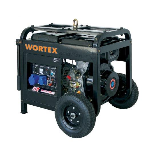 Offerte pazze Comparatore prezzi  Generatore Elettrico Diesel Wortex Hw 5500 Kw 48  il miglior prezzo