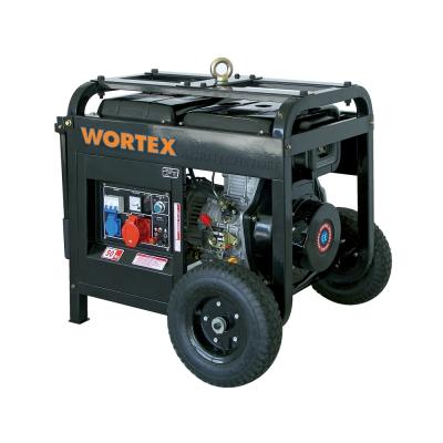 Generatore Trifase Diesel Wortex HW 5500 T Kw 4,8