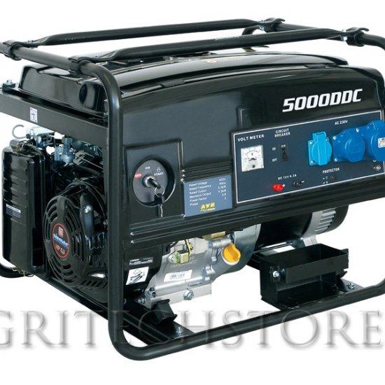 Generatore Elettrico A Benzina Wortex Lw 5000 Kw 45