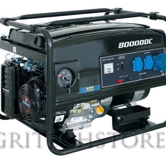 Generatore Elettrico A Benzina Wortex Lw 8000 Kw 65