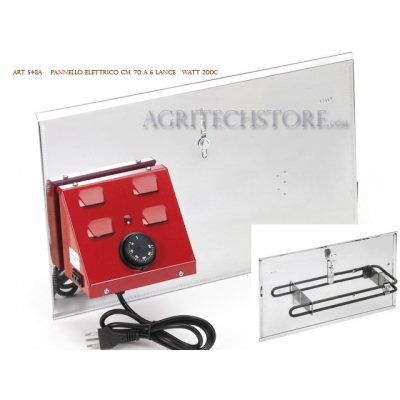 Pannello elettrico per girarrosto Ferraboli Art. 548/A