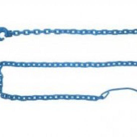 Catena Da Esbosco Per Verricello 3mt Blu Spessore 8 Mm