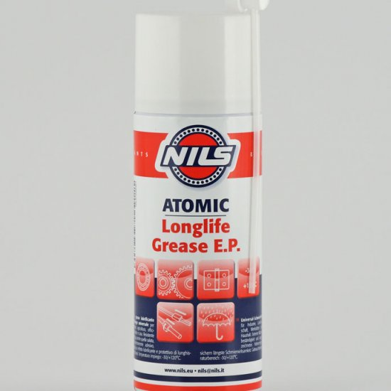 Atomic Nils Grasso Lubrificante Spray Con Ptfe 400 Ml