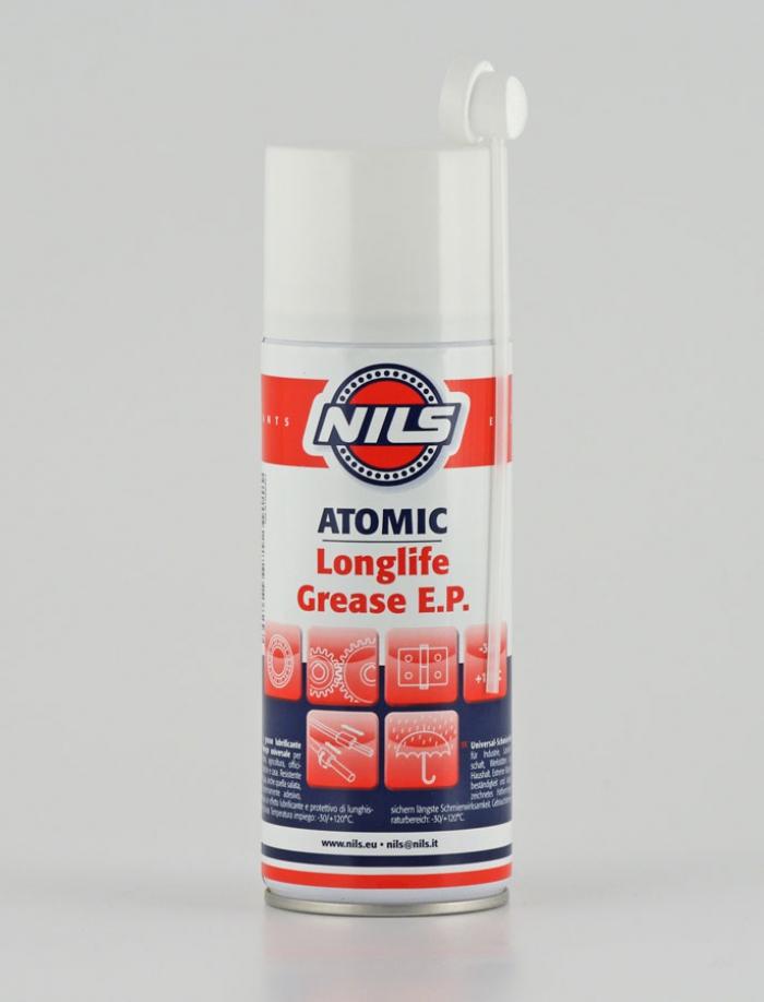 ATOMIC Nils Grasso lubrificante Spray con PTFE 400 ml.