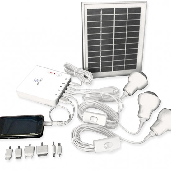 Sistema Fotovoltaico Fu Energy Station