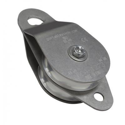 Puleggia doppia di rinvio apribile in alluminio PCA1273