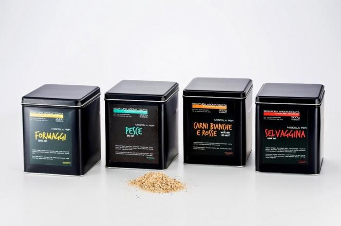 Segatura aromatizzata gr. 300 per Formaggi e Dolci
