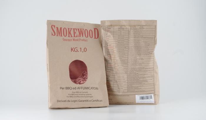 Cippatura Pressata per Affumicatore Kg.1