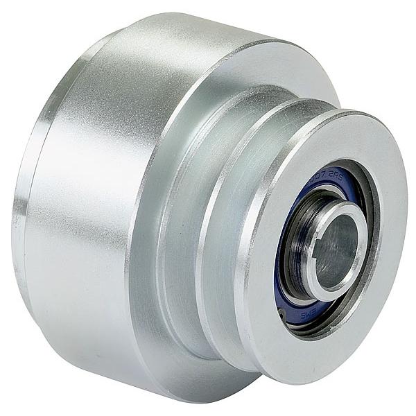 Puleggia a frizione centrifuga Ø 95 mm. Gola A