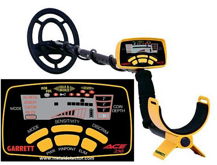 Metaldetector GARRETT EUROACE 350