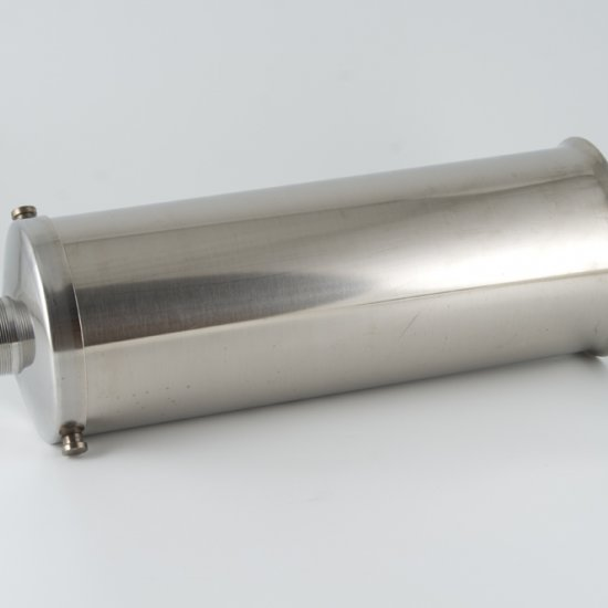 Tubo Inox Per Insaccatrice Reber 12 Kg