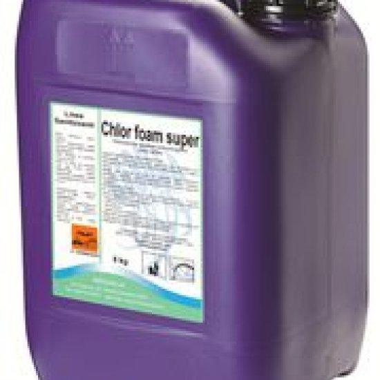 Chlor Foam Detergente Cloroattivo Schiumogeno 25 Kg