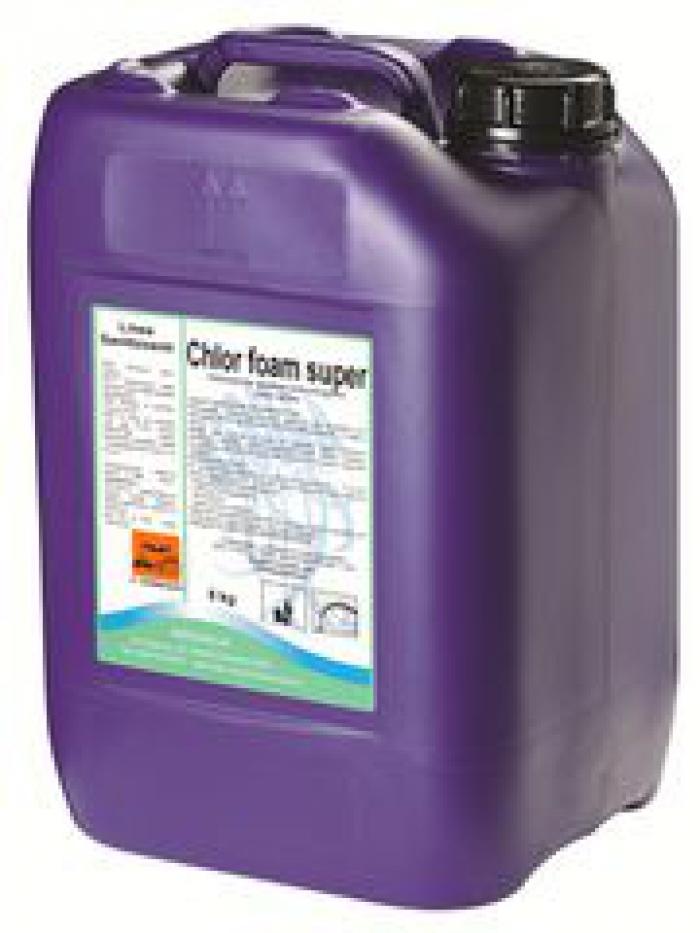 CHLOR FOAM - Detergente Cloroattivo schiumogeno 25 Kg.