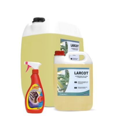 LARCOT non Schiumogeno per forni e piani di cottura, Tanica da 5 Kg.
