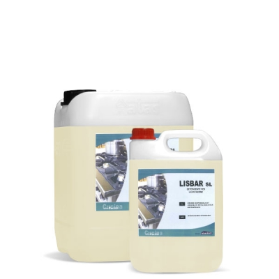 LISBAR  SL - Detergente per lavatazzine alcolico, Tanica da 10 Kg