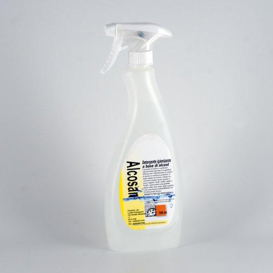 Alcosan Detergente Igienizzante Alcolico 750 Ml