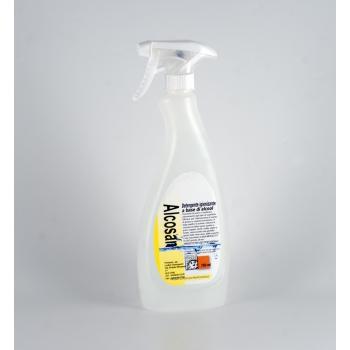 Alcosan - Detergente Igienizzante Alcolico 750 ml.