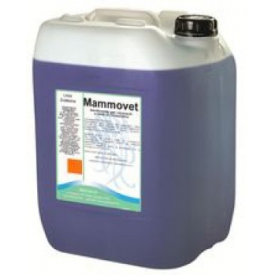 MAMMOVET Sanitizzante per Capezzoli a base di Clorexidina 10 Kg.