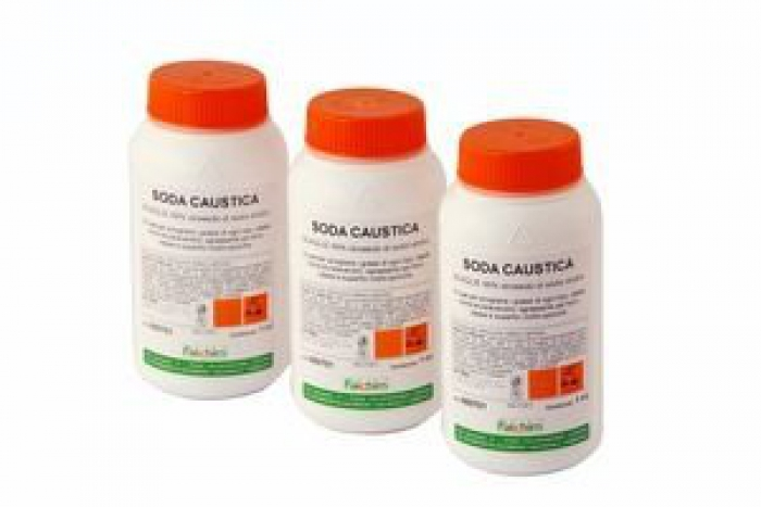 Soda Caustica in Perle 1 kg.