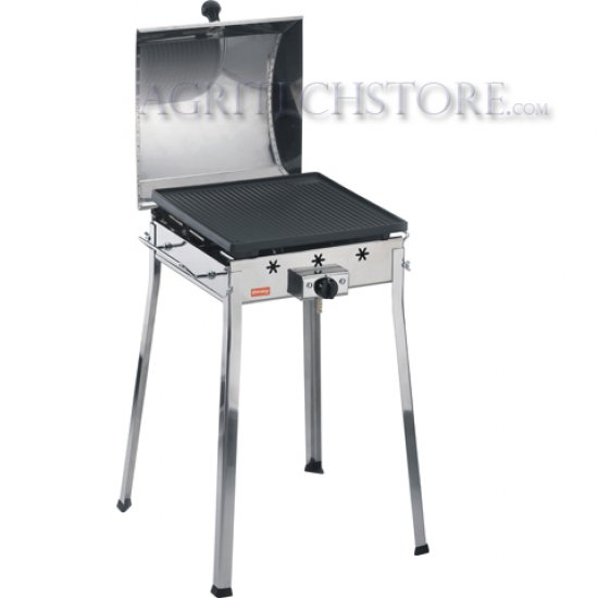 Barbecue Ferraboli A Gas Mono Inox Art091