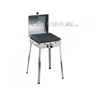 Barbecue Ferraboli a Gas Mono Inox Art.091