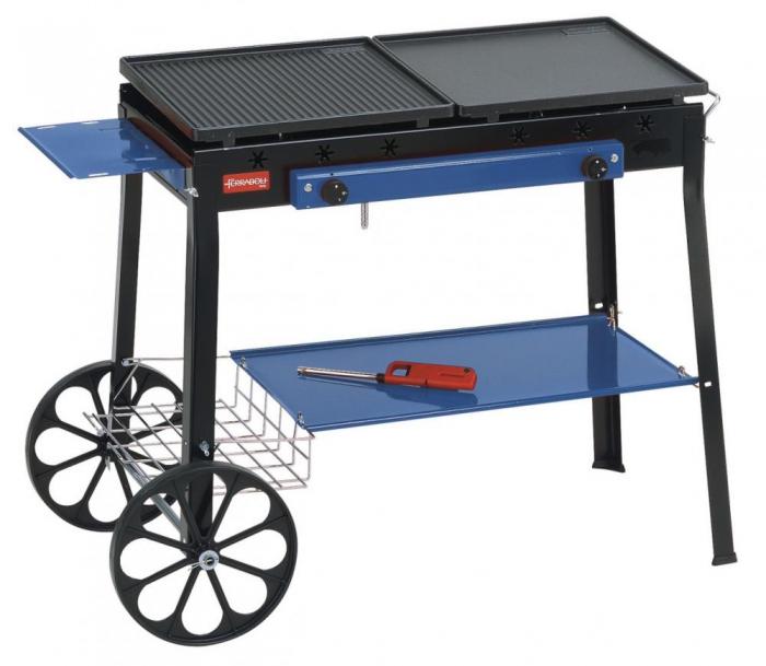 Barbecue Ferraboli,Stereo Ghisa Gas Art.094