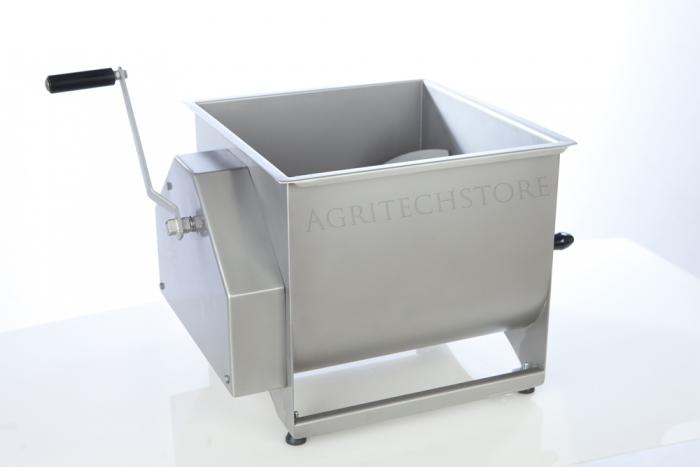 Mescolatore di Carne Bipala Inox  40 Kg.