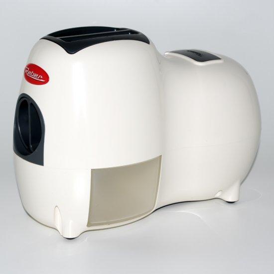Grattugia Elettrica Fido Biancogrigio 9250n
